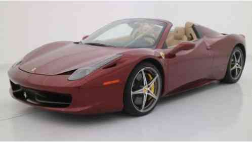 ferrari 458 458 italia spider 2014 this is an incredible convertible. Black Bedroom Furniture Sets. Home Design Ideas