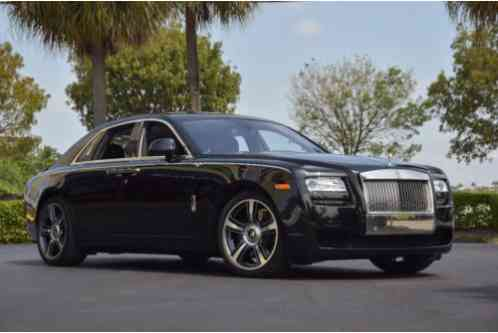 Rolls-Royce Ghost 4dr Sedan (2014)