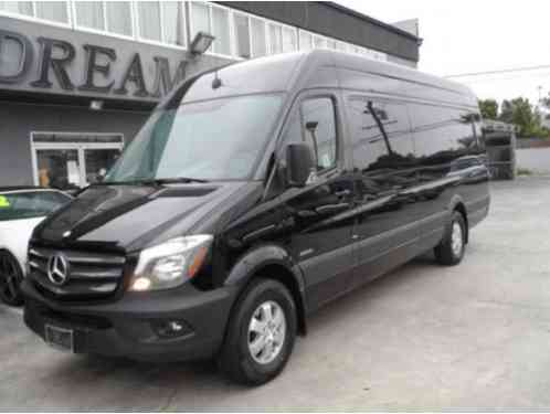 2015 Mercedes-Benz Sprinter Luxury Limo 170 EXT High Roof 16 Passengers Duel TV Triple Bar