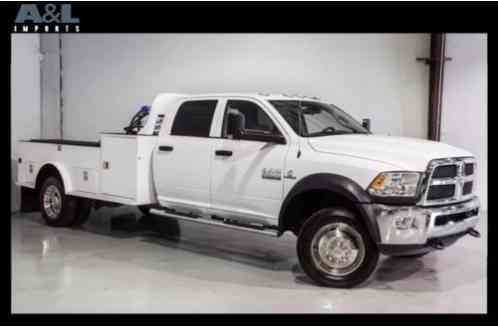 2015 Ram 5500 4X4 CM Service Utility Bed