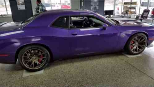 Dodge Challenger 2016 Check Out This Hard To Find Plum