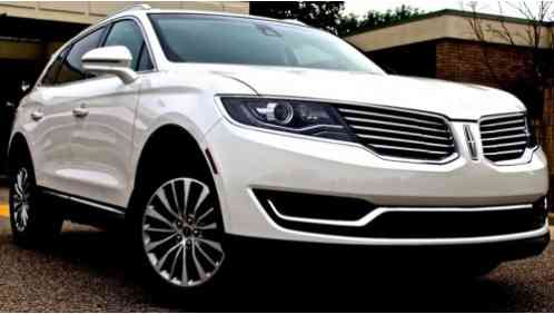 2016 Lincoln MKX Select Sport Utility 4-Door