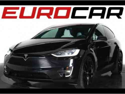 tesla model x p90d 2016 4 door suv eterior color black interior color. Black Bedroom Furniture Sets. Home Design Ideas
