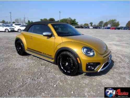 2017 Volkswagen Beetle - Classic 1. 8 Turbo Accident Free, Salvage Rebuilt. Like New