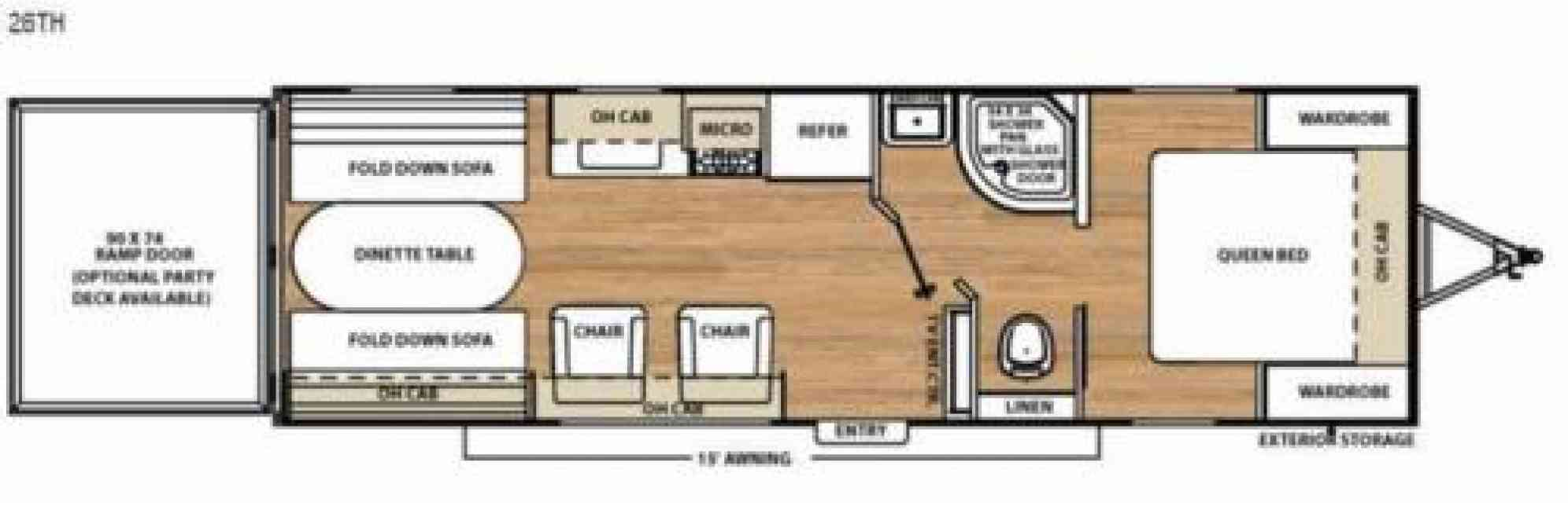 2018 Coachmen Catalina 26TH Toy Haulers