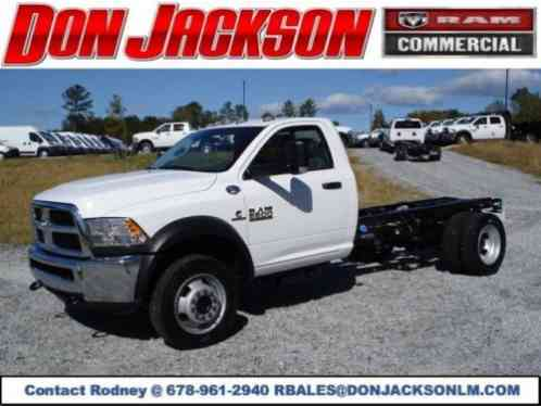 Ram 5500 5500 4X4 Chassis Cab (2018)