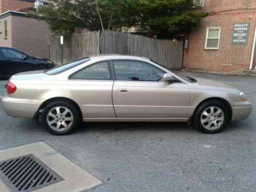 Acura CL 2001, 2 DOOR COUPE, SAND GOLD WITH A TAUPE TAN LEATHER- car for sale