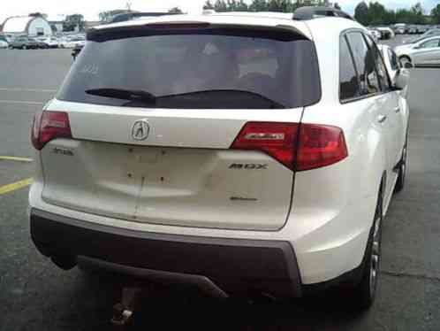 Acura mdx 2008 7 passenger 4wd loaded with options for 2002 acura mdx window regulator