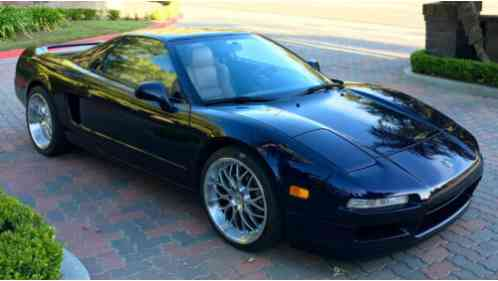 Acura NSX 1995, -T Midnight Purple w/ Tan leather interior ...