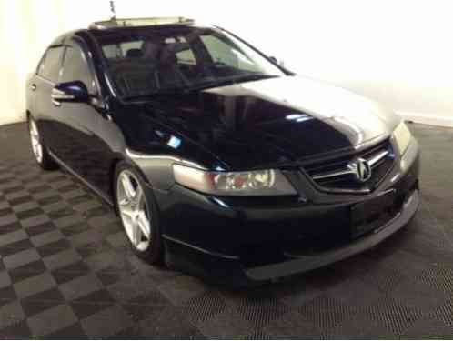 acura tsx 2004 clean black sunroof leather 6spd. Black Bedroom Furniture Sets. Home Design Ideas
