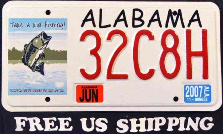 Alabama take a kid fishing fish bass al grpahic for Indiana fishing license age