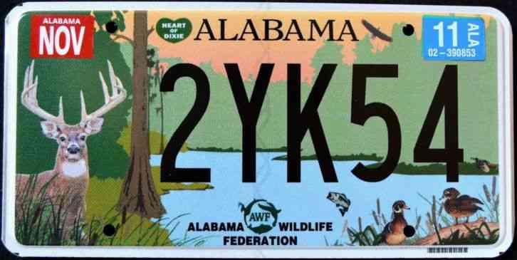 Alabama wildlife deer duck fish turkey bass al grpahic for Minnesota fishing license age