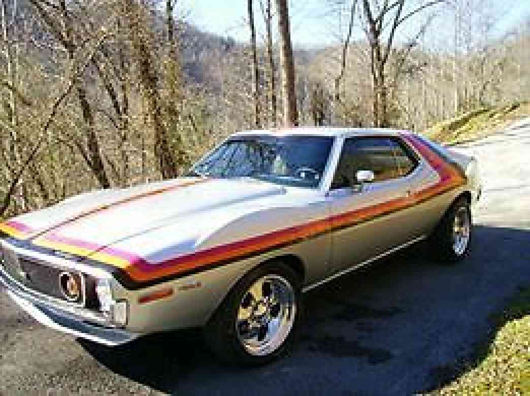Amc Javelin 1971 Body In Excellent Condition Photo Of One
