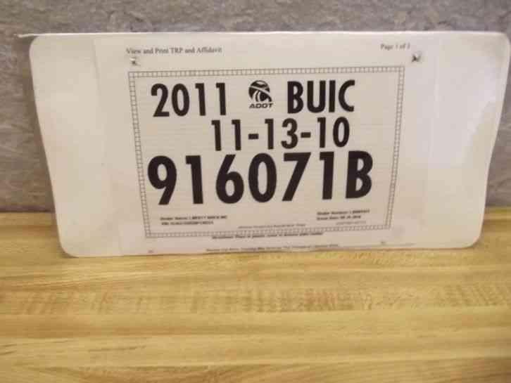 1969 Arizona License Plate Tag