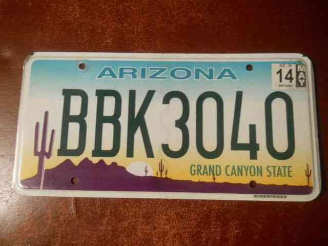 Texas Car Sale License Plate