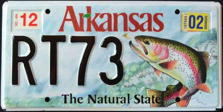 Arkansas wildlife trout fish natural state mint ar for Oklahoma fishing license age
