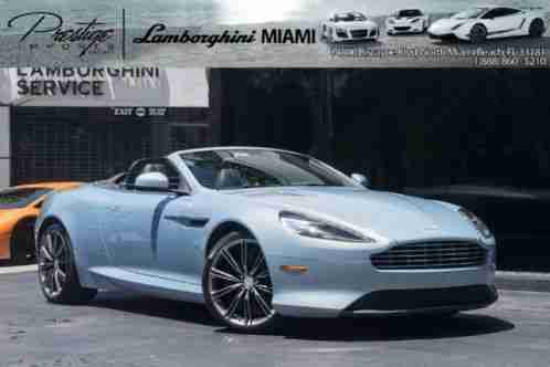 aston martin db9 volante 2013 vital information car for sale. Black Bedroom Furniture Sets. Home Design Ideas