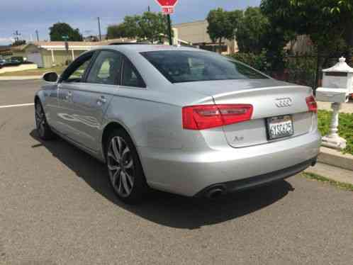 Audi A6 2013 4 Cylinder Turbo Automaticclean