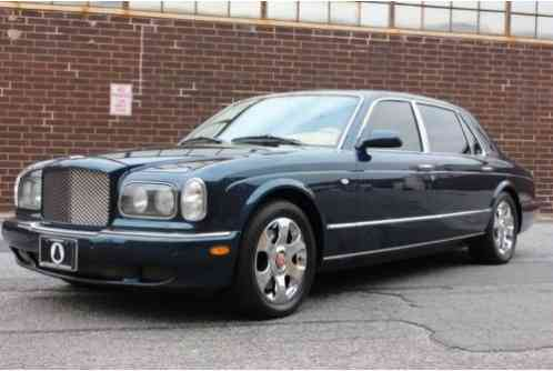 bentley arnage red label 2002 long wheel base loaded with bespoke. Black Bedroom Furniture Sets. Home Design Ideas