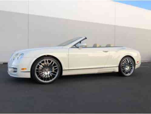 2007 Bentley Continental GT 2dr Convertible