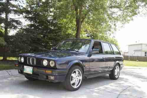 bmw 3 series 325i touring 1990 for sale rare e30 wagon in good car for sale. Black Bedroom Furniture Sets. Home Design Ideas