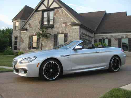 Bmw 6 Series 2012 650i Xdrive Convertible Msrp Gt 109