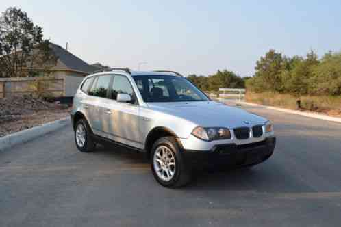 bmw x3 2 5i 2005 5 6 speed manual yes a clutch in a sav car for sale. Black Bedroom Furniture Sets. Home Design Ideas