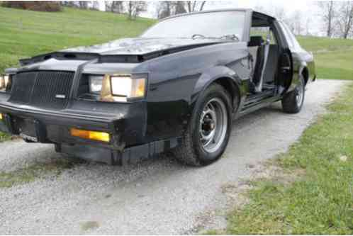 buick grand national 1987 up for sale project last inspected 2014. Cars Review. Best American Auto & Cars Review