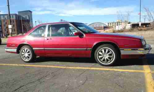 Buick Regal 1987, turbo t with only 94k with i do believe is the