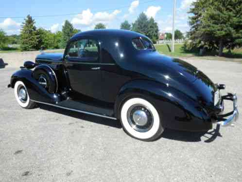 Buick 3 window business coupe 1936 original complete for 1936 pontiac 3 window coupe for sale