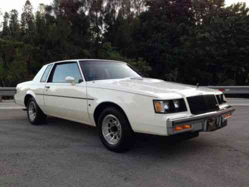 1987 buick regal turbo limited