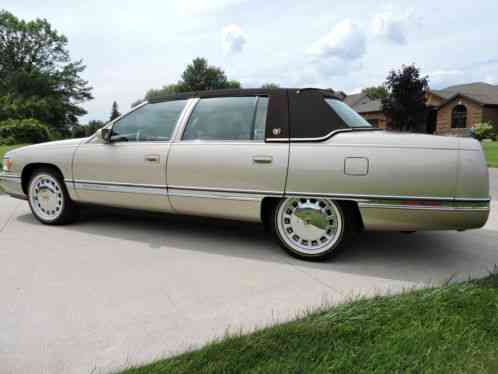 1996 Cadillac Deville Gold Edition Images