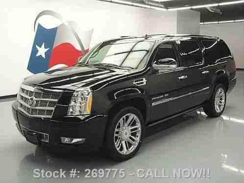 cadillac escalade esv platinum awd sunroof nav dvd 2012. Black Bedroom Furniture Sets. Home Design Ideas