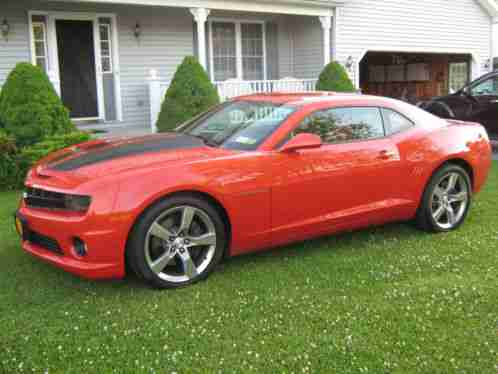 chevrolet camaro ss 2010 for sale orange with black stripes ls3. Black Bedroom Furniture Sets. Home Design Ideas