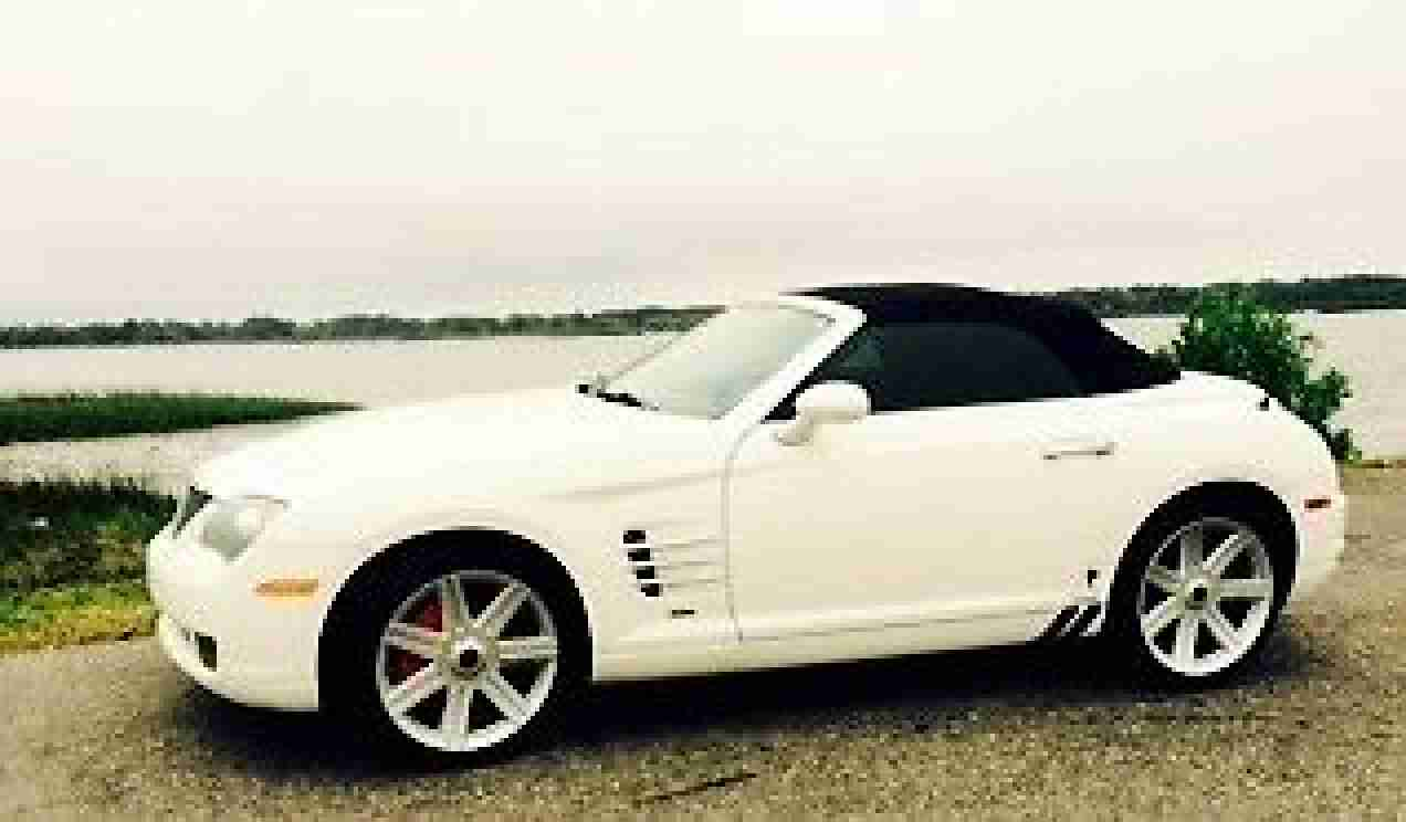 chrysler crossfire 2005 roadster ready for summer top down car for sale. Black Bedroom Furniture Sets. Home Design Ideas