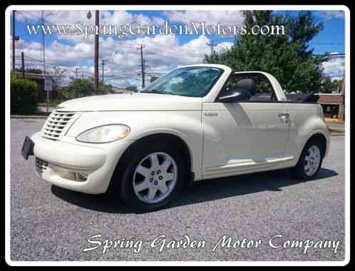 chrysler pt cruiser convertible touring turbo 2005 up for. Black Bedroom Furniture Sets. Home Design Ideas
