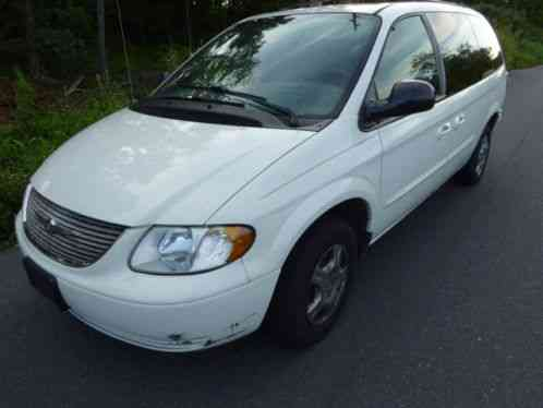 chrysler town country 2003 and low mileage only 112k these vans. Black Bedroom Furniture Sets. Home Design Ideas
