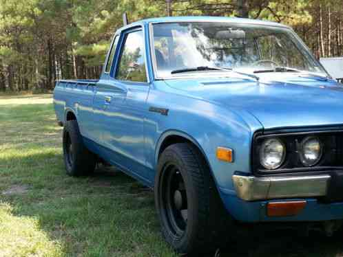 Datsun 620 king cab auto a/c 1979, I bought this truck ...