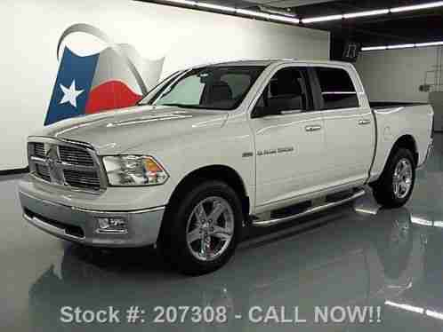 dodge ram 1500 lone star crew hemi 20 wheels 35k 2012 condition. Black Bedroom Furniture Sets. Home Design Ideas