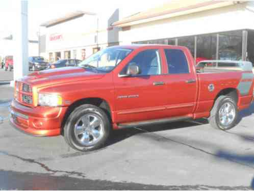 dodge ram 1500 daytona edition 2005 super nice slt orange quad cab 5 7. Black Bedroom Furniture Sets. Home Design Ideas