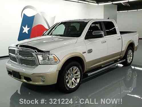 dodge ram 1500 ram longhorn crew hemi 4x4 sunroof nav 2014 4k mi at. Black Bedroom Furniture Sets. Home Design Ideas