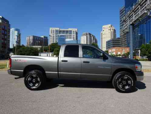 dodge ram 1500 slt laramie off road pkg sport custom wheels hemi 2006. Black Bedroom Furniture Sets. Home Design Ideas