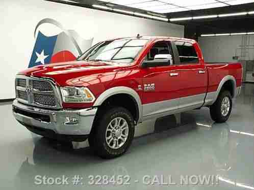 dodge ram 2500 laramie crew 4x4 diesel leather 15k 2014 condition. Black Bedroom Furniture Sets. Home Design Ideas