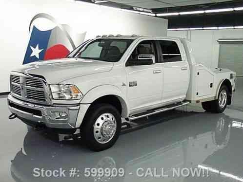 dodge ram 4500 laramie crew 4x4 diesel hauler 2011 laie 61k at texas. Black Bedroom Furniture Sets. Home Design Ideas
