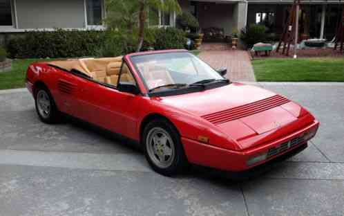 ferrari mondial 1989 excellent example of the beautiful t. Black Bedroom Furniture Sets. Home Design Ideas