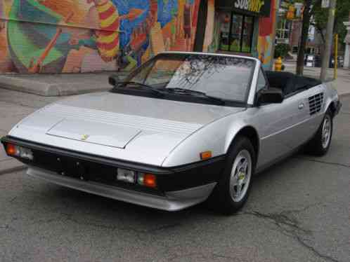 ferrari mondial mondial quattrovalvole convertible 1985 68 000 km s or. Black Bedroom Furniture Sets. Home Design Ideas