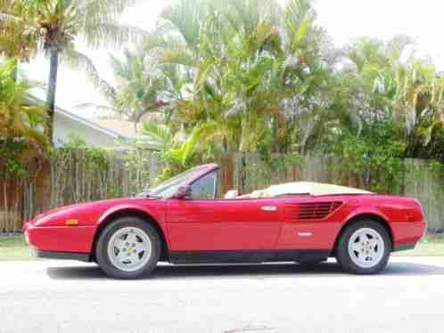 ferrari mondial spyder 355 1987 convertible quatro valve 5 speed. Black Bedroom Furniture Sets. Home Design Ideas