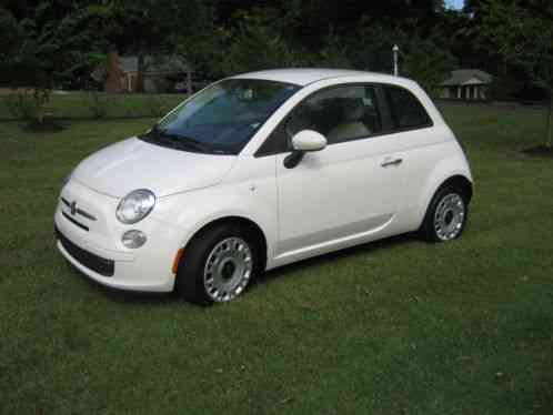 Fiat 500 2013 Standard Pop With 18412 Miles Automatic