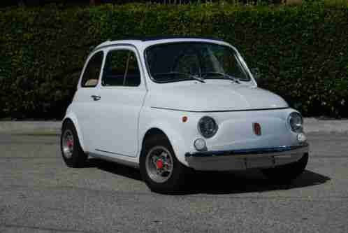 fiat 500 fast and fun 1970 fresh restoration heavily modified great. Black Bedroom Furniture Sets. Home Design Ideas