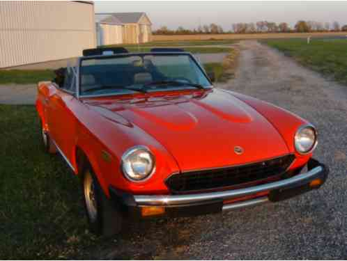 Fiat Other Spider 2000 1979 Here Is An Incredible Example